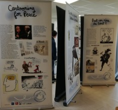 "Exposition ""Cartooning for Peace"" au CDI"