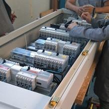 Armoires électriques câblées pour un hôpital. Le projet est terminé!